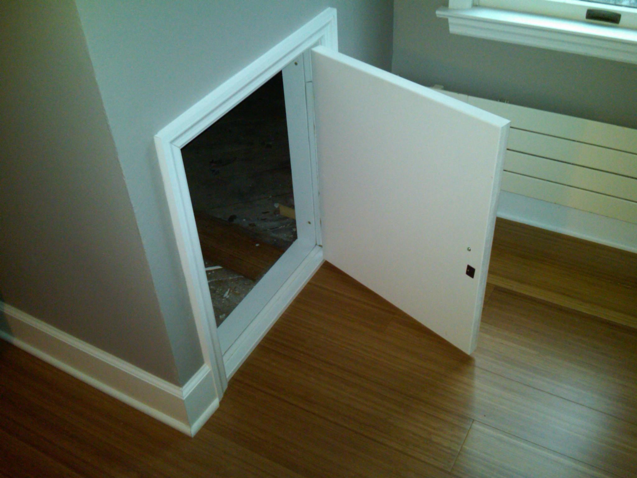 knee wall access doors